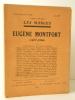 EUGENE MONTFORT (1877-1936). Numéro hors série de la revue Les Marges, juin 1937. . REVUE LES MARGES