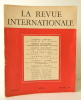 LA SAGESSE DES NATIONS. La Revue Internationale, n° 1 – décembre 1945. PREVERT (Jacques)