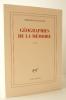 GEOGRAPHIES DE LA MEMOIRE.. LE GUILLOU (Philippe)
