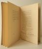 LETTRE DE CHARLES D'ORLEANS A LOUIS XI POUR SOLLICITER LA GRACE DE VILLON, MENACE DE LA POTENCE. . [TYPOGRAPHIE] RIMBAUD (Arthur)