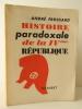 HISTOIRE PARADOXALE DE LA IVème REPUBLIQUE.. FROSSARD (André)