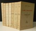 L'AME ENCHANTEE. Edition originale complète : 7 volumes sur grand papier.. ROLLAND (Romain)