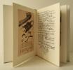 CAPRICE. Petits poèmes dessinés. Messages dessinés à Antoine et Eberhard…. [BAUDELAIRE] JANSSEN (Horst)