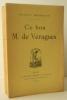 CE BON M. DE VERAGUES.. MAINDRON (Maurice).