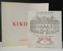 HOMMAGE A KIKOÏNE. Catalogue de l'exposition présentée par la Galerie de Paris en octobre 1973. . [KIKOINE]