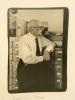 PHOTOGRAPHIE ORIGINALE. Portrait de Claude Lévi-Strauss.. LEVI-STRAUSS (Claude)