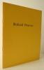 ROLAND PENROSE. Collages récents. Catalogue de l'exposition organisée en novembre et décembre 1982 à la galerie Henriette Gomès.. GASCOYNE (David)