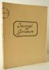 JOURNAL DES GONCOURS (GONCOURT). Mémoires de la vie littéraire par un groupe d'indiscrets (partie inédite)-  année 1896. Avec un autographe d'Edmond ...
