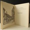 RIQUEWIHR. Promenade à la recherche de son charme et de ses richesses.. [ALSACE] HOFER (Edouard) pour les dessins, FAVRE (Anna) pour le texte.