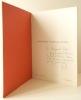 AREL. Solstices et autres situations. Catalogue de l'exposition présentée à la Villa Médicis du 5 au 15 septembre 1977.. [LAND ART]