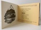 KRASNO. Catalogue d'une exposition présentée à la Galerie Florence Houston-Brown du 21 octobre au 20 novembre 1965.  . [KRASNO]