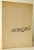 SEGAL. Catalogue de la première exposition française de George Segal à Paris, Ileana Sonnabend Gallery. 1963. . [SEGAL (Georges)]