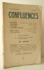 CONFLUENCES N° 13.. [REVUE] CONFLUENCES