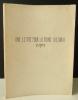 UNE LETTRE POUR LA REINE VICTORIA, Un opéra / A LETTER FOR QUEEN VICTORIA. An Opera.. WILSON (Robert).