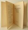 DEUX AMOURS CRUELLES. Préface de Henry Miller.. TANIZAKI (Junichiro)