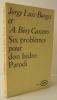 SIX PROBLEMES POUR DON ISIDRO PARODI.. BORGES (Jorge Luis) et BIOY CASARES (Antonio),