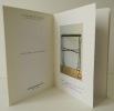 FRAGMENTATIONS. Catalogue d'une exposition présentée à la galerie En attendant les barbares en octobre-décembre 2007. . [DESIGN] GAROUSTE (Elizabeth)