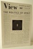 "VIEW ""through the eyes of poets"" Feb. – March 1942..  [SURREALISME] REVUE VIEW."