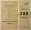 PROGRAMMES DES PROJECTIONS :  NAISSANCE DU CINEMA – 250 FILMS D'AVANT-GARDE.. CINEMATHEQUE FRANCAISE (La)
