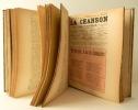 CHANSON (LA). Journal de musique populaire - Archives de la chanson - Echo des Sociétés lyriques.. [CHANSON FRANCAISE] REVUE