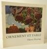 ORNEMENT ET FABLE. Peintures, sculptures, gravures de la période Cobra. Catalogue d'une exposition Heerup organisée par la Maison du Danemark du 10 ...