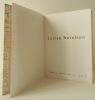 LOUISE NEVELSON. Catalogue de l'exposition présentée par la Galerie Daniel Gervis en 1967. . [NEVELSON]