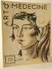 ART ET MEDECINE mars 1935.  Montherlant, Genevoix .... MONTHERLANT, GENEVOIX…