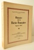 HISTOIRE DE LA POESIE FRANCAISE DEPUIS 1850.. FORT (Paul) et MANDIN (Louis)