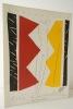 AKI KURODA. Linogravure. Plaquette publiée à l'occasion d'une exposition des linogravures de Kuroda chez Maeght. . [KURODA] SALLOCH (Roger)