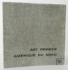 ART PRIMITIF AMERIQUE DU NORD. Catalogue de l'exposition organisée par Jacques Kerchache en 1965. . [ARTS PREMIERS]  KERCHACHE (Jacques)