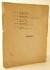 GEORGES MICHEL 1763-1843. Exposition rétrospective. Catalogue de la première rétrospective consacrée à Georges Michel du 5 décembre 1938 au 7 janvier ...