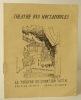 GIONO. LE BOUT DE LA ROUTE. Programme du Théâtre des Noctambules. GIONO (Jean)