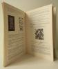 DOKUMENTATIONS-BIBLIOTHEK III. Teile der Bibliothek und Sammlung Tristan Tzara. Catalogue de la vente de la bibliothèque Tzara le 12 juin 1968.    . ...
