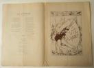 L'ESCHOLIER. Bal annuel des étudiants bordelais du 2 février 1895.. [BORDEAUX]