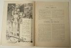 L'ESCHOLIER BORDELAIS. Bal annuel des étudiants bordelais du 16 janvier 1897.. [BORDEAUX]