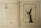 L'ECOLIER BORDELAIS. Bal annuel des étudiant bordelais en janvier 1900. [BORDEAUX]