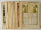 LES PARTISANS. (1900-1901).  Revue complète en 10 livraisons du n° 1 (novembre 1900) au n° 10 (20 mars 1901). . [REVUE]