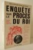 ENQUETE SUR LE PROCES DU ROI LOUIS XVI . GIRAULT DE COURSAC (Paul et Pierrette).