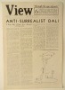 """VIEW """"through the eyes of poets"""" June 1941.. [SURREALISME] REVUE VIEW."""