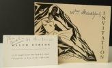 CARTON D'INVITATION ET CARTE DE VISITE.. [PHOTOGRAPHIE] SERGE LIDO – RALPH GIBSON