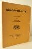 BHAGAVAD-GITA. Traduit du sanskrit par Sylvain Lévi et J.-T. Stickney.  . [BHAGAVAD-GITA]
