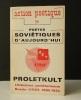 PROLETKULT. Littérature prolétarienne Russie-URSS 1905-1934. .    [AVANT-GARDE RUSSE]   ACTION POETIQUE. N°59
