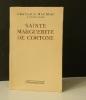 SAINTE MARGUERITE DE CORTONE. .   MAURIAC (François).
