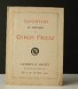 EXPOSITION DE PEINTURES D'OTHON FRIESZ.     Catalogue exposition 1910 à la galerie Druet..   [BEAUX-ARTS]