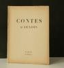 CONTES D'AUXOIS.. THOMAS (Edith)    [éditions de minuit clandestines]