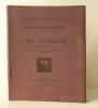 L' ART FUNERAIRE A L'EPOQUE DES HAN. Mission archéologique en Chine 1914..  SEGALEN  (Victor),  GILBERT DE VOISINS  (A.)   et  JEAN LARTIGUE.