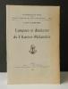 LANGUES ET DIALECTES DE L'AUSTRO-MELANESIE.. [ETHNOLOGIE]   LEENHARDT   (Maurice)