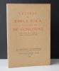 Lettres de Emile Zola à Messieurs De Goncourt.. ZOLA  (Emile).