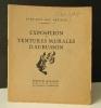 EXPOSITION de TENTURES MURALES D'AUBUSSON. Entraide des artistes..   TAPISSERIES D'AUBUSSON   (LURCAT, DUBREUIL, DUFY, GROMAIRE, DOM ROBERT, ...