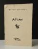 ATLAN. Oeuvres récentes. Catalogue de l'exposition Maeght en 1946..    [BEAUX-ARTS]